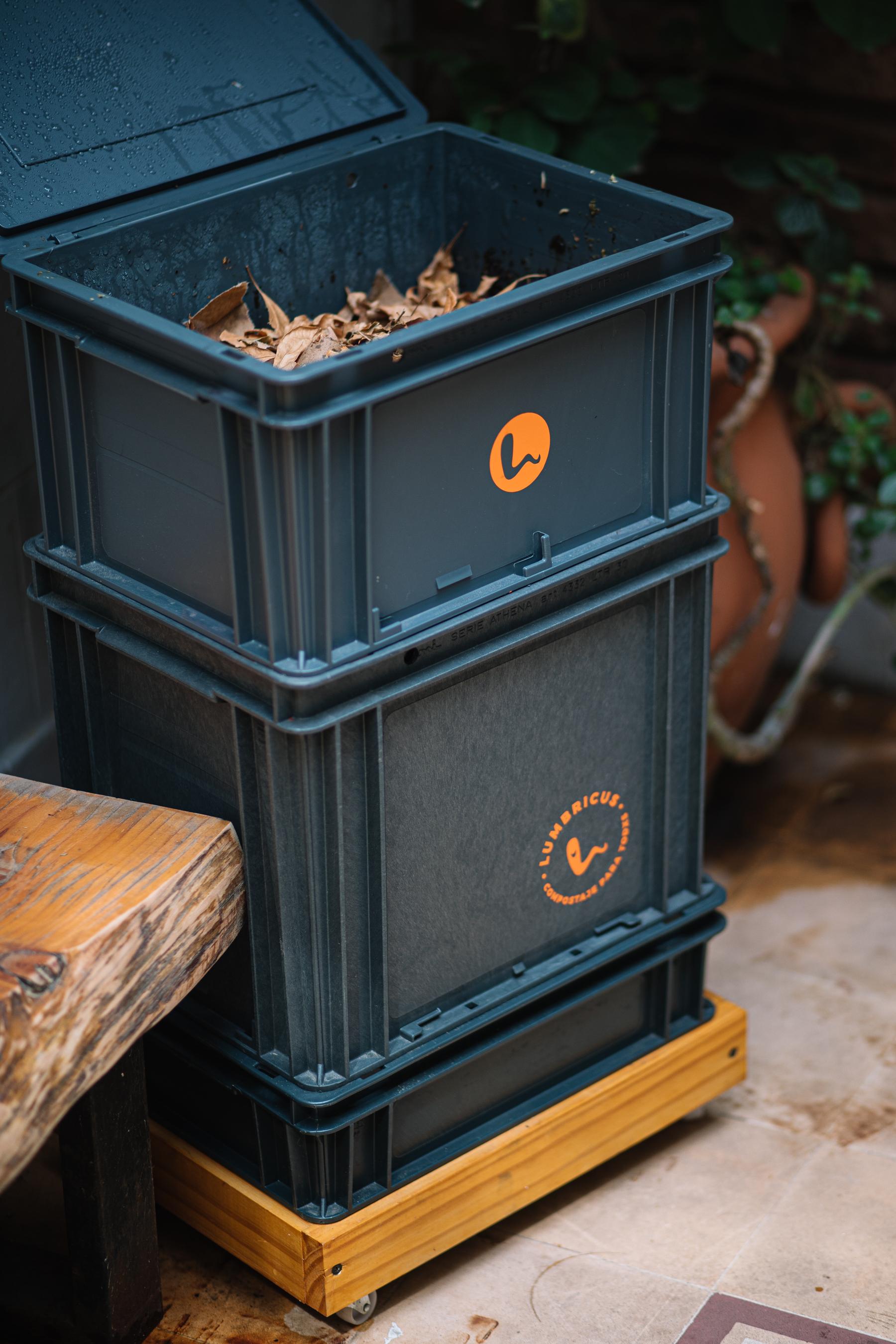 Compostera Basura Orgánica